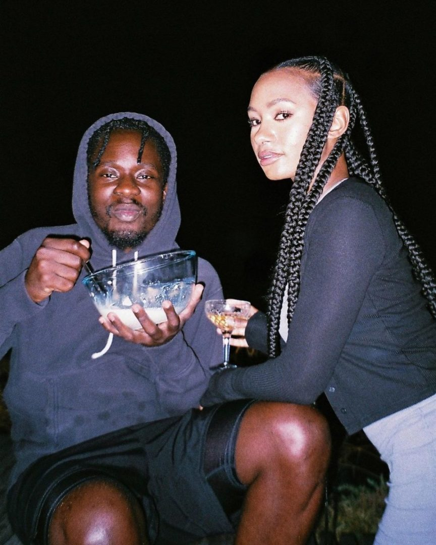 Temi Otedola and Mr Eazi