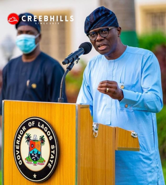 Lagos State Governor, Sanwo-Olu officially tests positive for Coronavirus