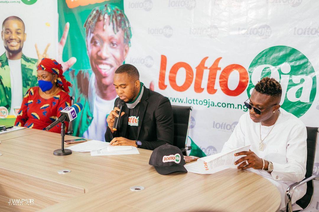 Popular music star, Zlatan Ibile bags new ambassadorial deal with lotto9ja