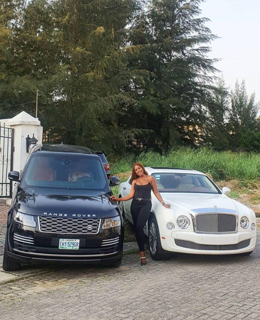 Linda Ikeji says Despite buying N175 Million 2020 Range Rover