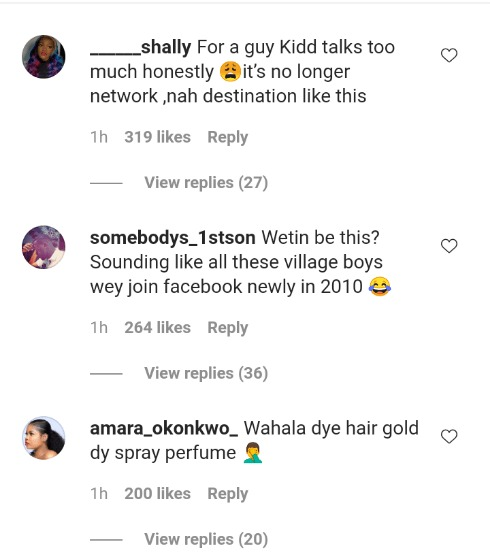 You talk too much – Fans slams Kiddwaya for bragging about his exotic world