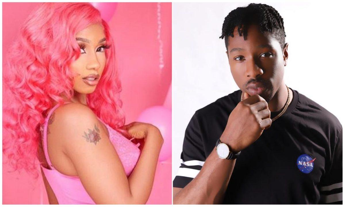 BBNaija's Mercy Eke spotted in a strip club with her new boyfriend, Tana (Video)