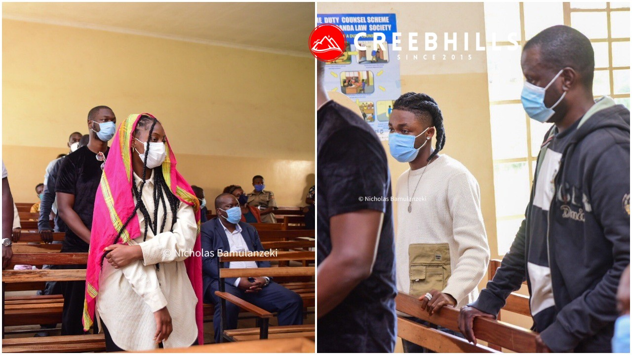 Omah Lay and Tems arraigned in court for flouting COVID 19 guidelines in Uganda