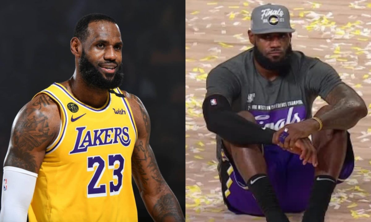 LeBron James set to sign a new two-year deal worth $85m with LA Lakers