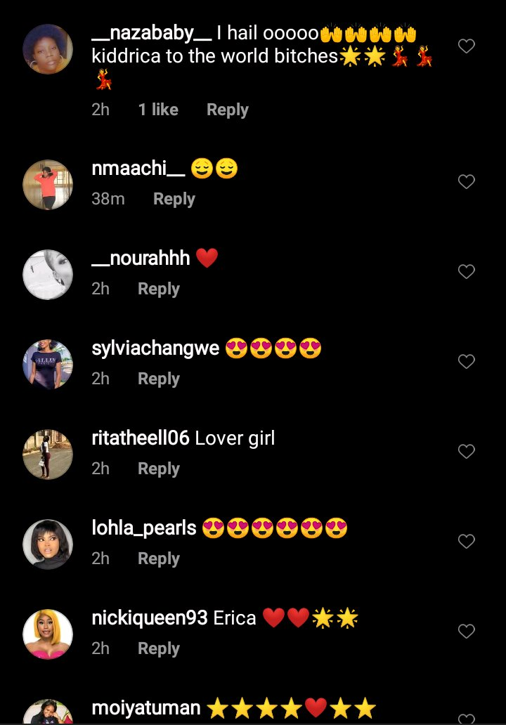 #BBNaija: Erica melts fans heart with her screensaver which depicts her love for Kiddwaya (Photo)