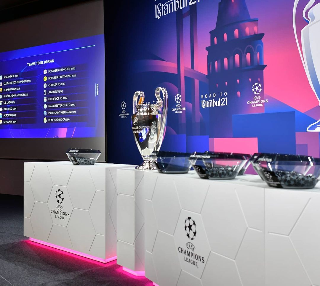 Champions League: Barcelona to face PSG as Atletico Madrid battle Chelsea (See Full draw)