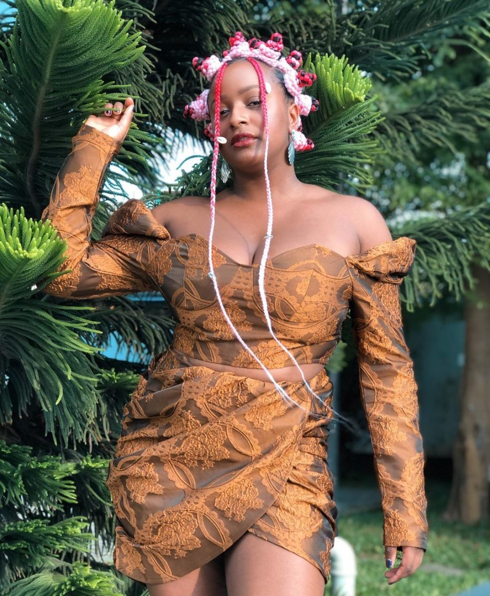 A Rich Teletubbie – DJ Cuppy claps back at trolls criticizing the way she dresses