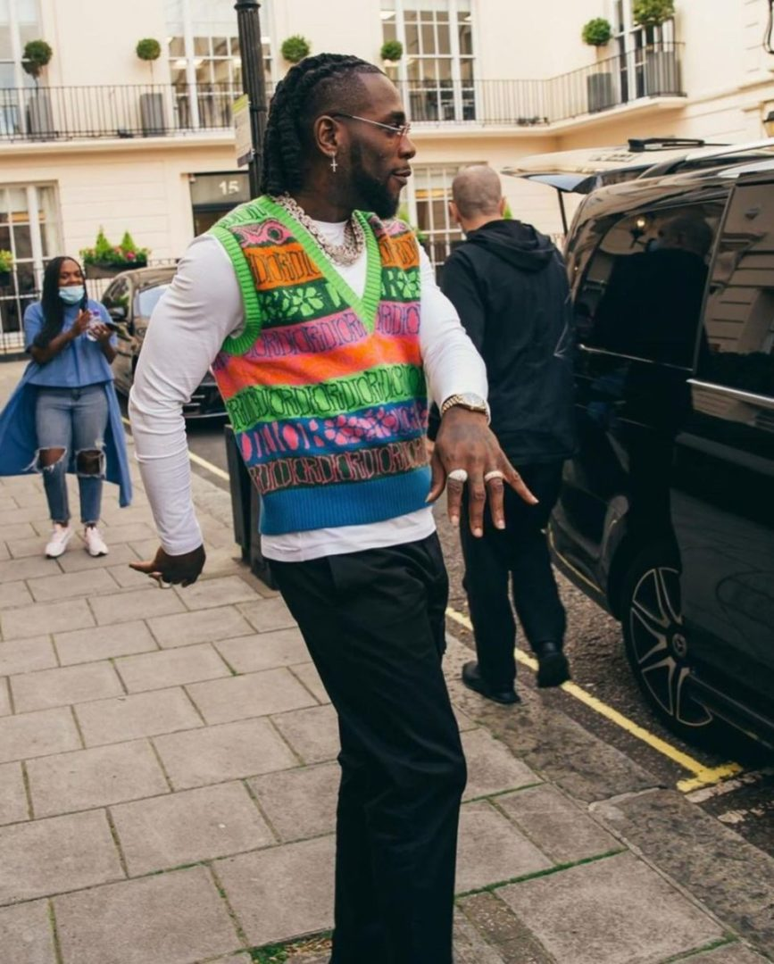 Burna Boy finally reacts to cheating allegations levied against him by Joepearl