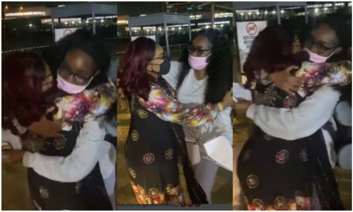 Watch priceless moment Mercy Aigbe reunited with her daughter, Michelle (Video)