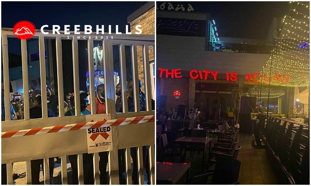 Cubana Night Club sealed for disobeying Lagos State's COVID19 protocols (Video)