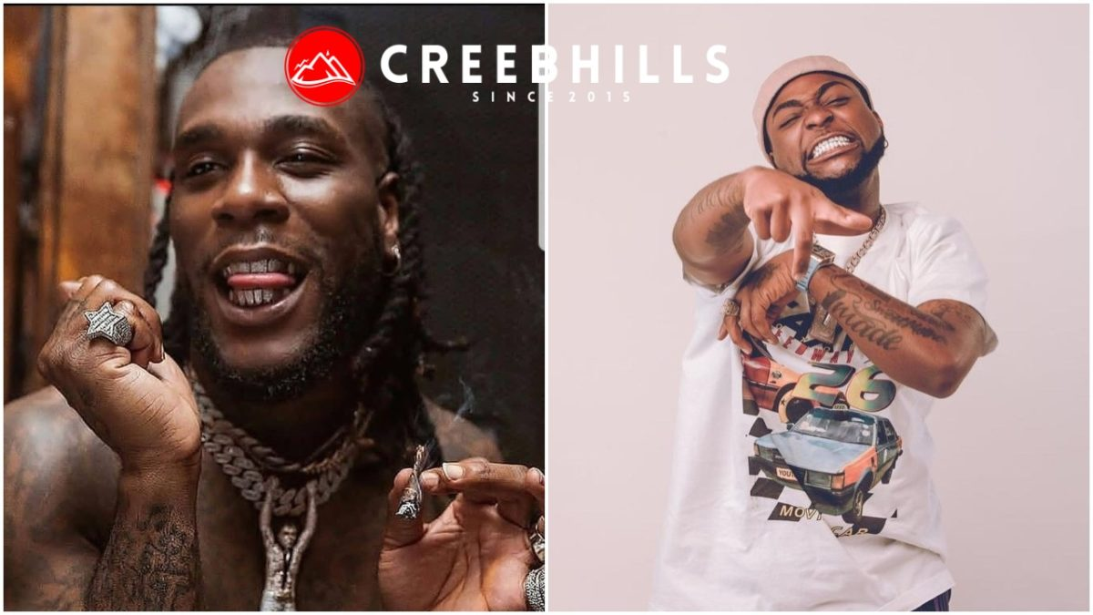 Moment Burna Boy and Davido allegedly clash at a nightclub in Ghana (Video)
