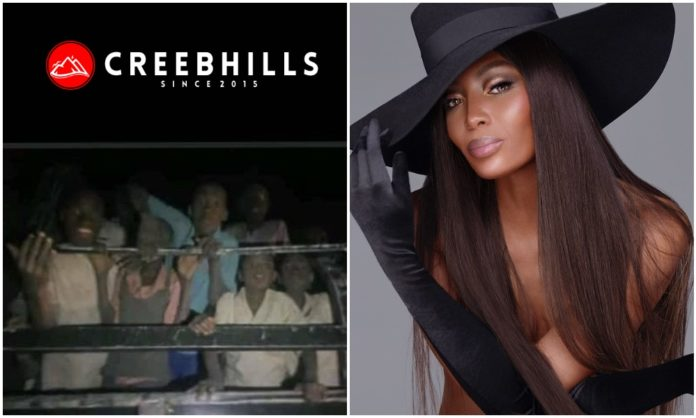 Naomi Campbell urges FG to bring back Chibok Girls after release of 300 schoolboys kidnapped from Katsina school