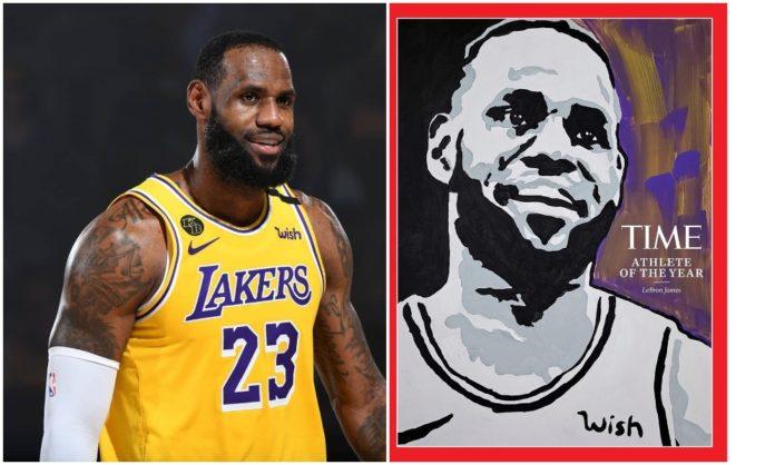 TIME Magazine names LeBron James 2020