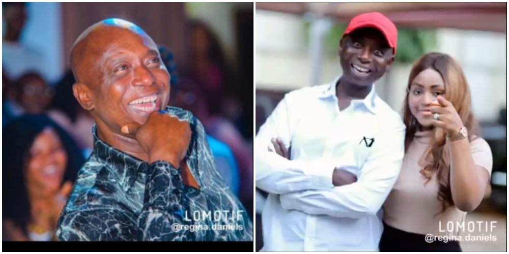 Regina Daniels showers encomium on her husband, Ned Nwoko on his 60th birthday (Video)