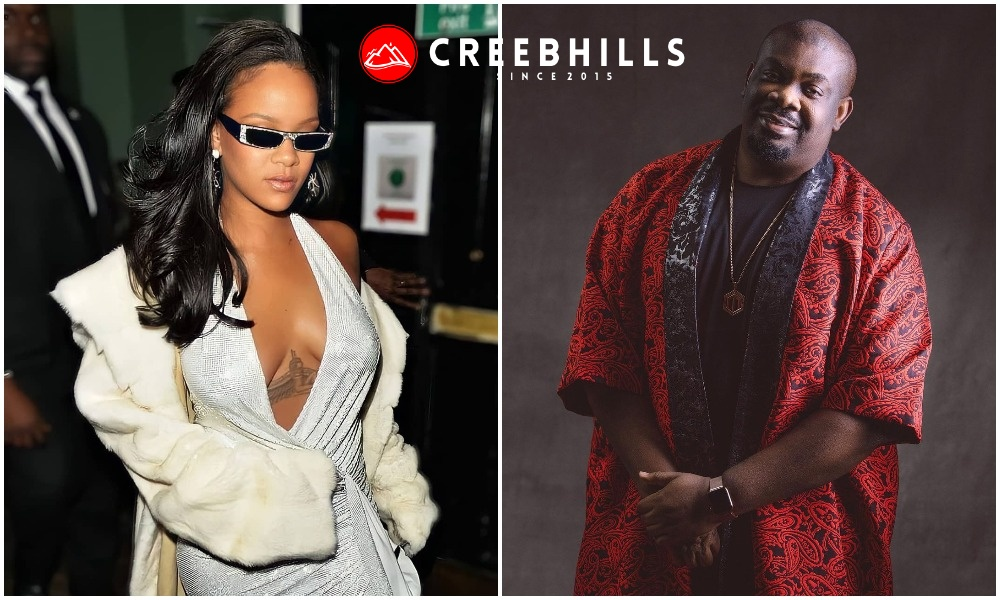 Don Jazzy in search of a new girlfriend as he hints that his crush, Rihanna is pregnant