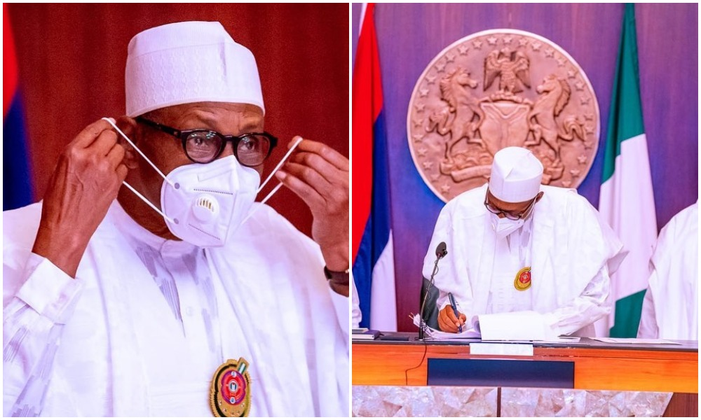 President Buhari signs 2021 Appropriation Bill into Law (Photos)
