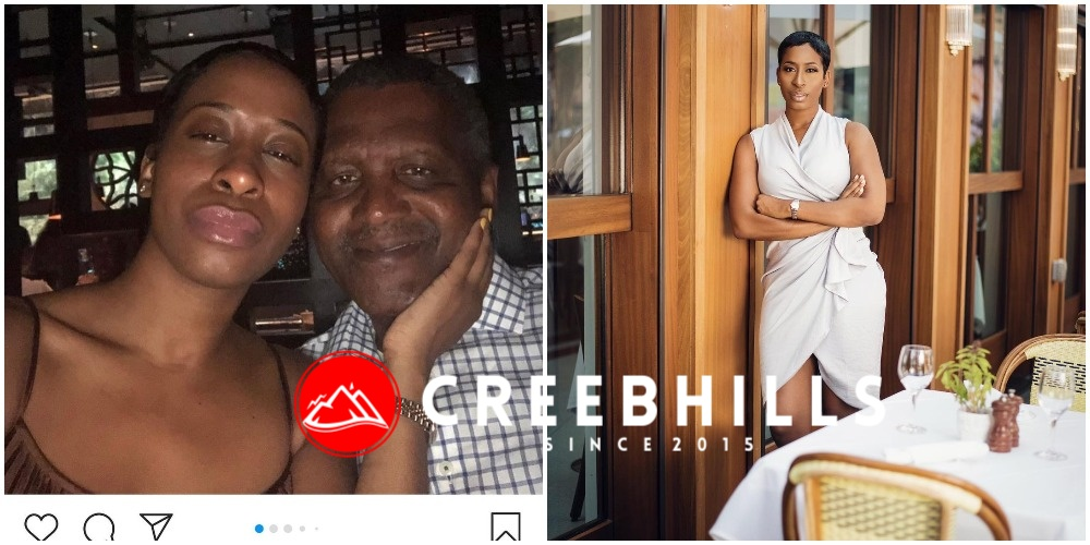 """He broke my heart in 1000 pieces"" – Aliko Dangote's alleged lover speaks up"