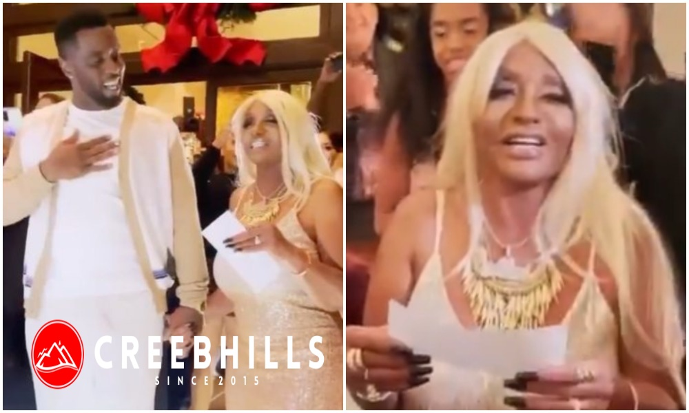 Puff Diddy gifts his mom $1M and a Bentley during her lavish 80th birthday (Video)