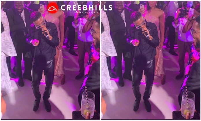 Watch Wizkid performing at the Presidential wedding in Equatorial Guinea (Video)