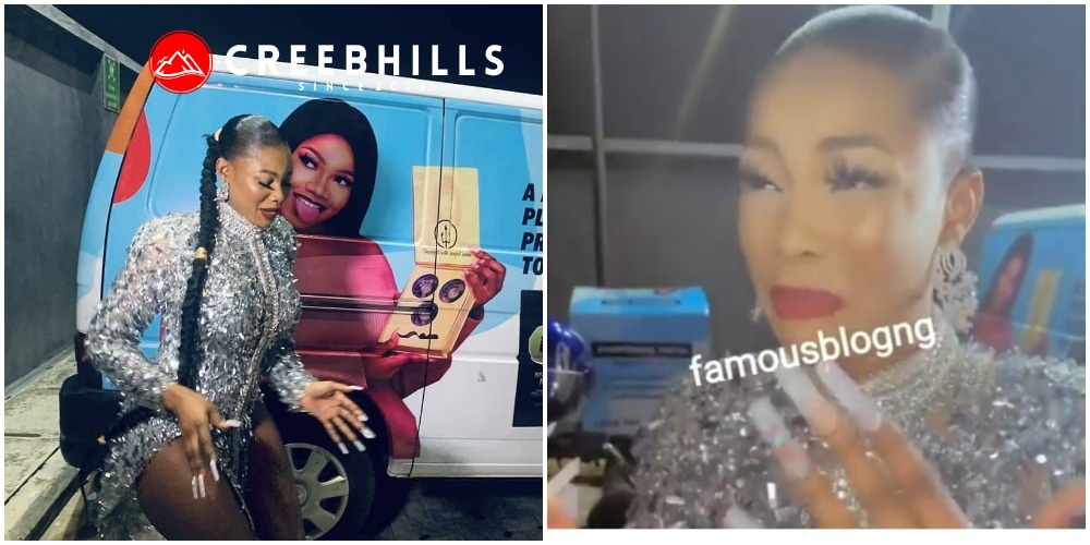 #BBNaija: Titans gifts Tacha 6M Naira, a delivery bus and 3 dispatch bikes for her 25th birthday (Video)