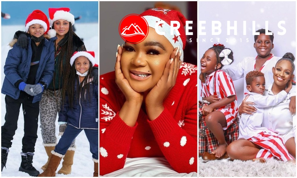 PHOTOS: Nigerian celebrities celebrates Christmas with family and friends