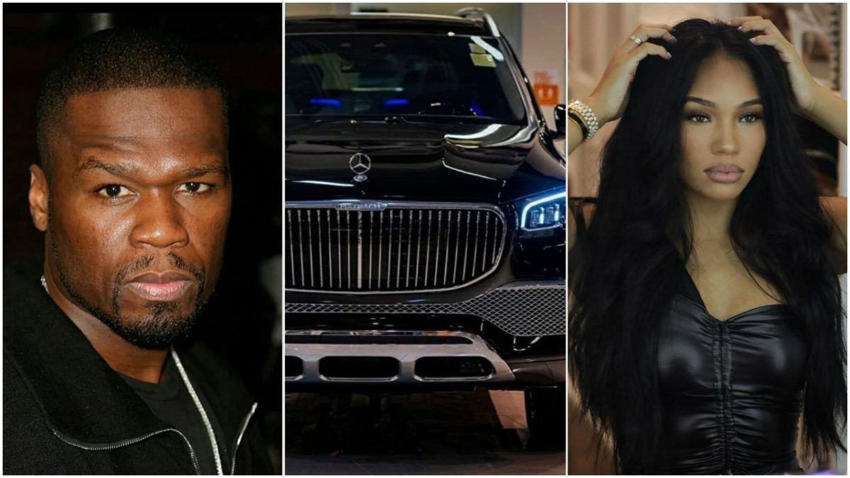 50 Cent buys his girlfriend Cuban Link a Maybach car for Christmas (Photos/Video)