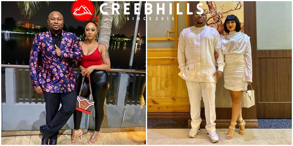 Rosy Meurer pens romantic message to Tonto Dikeh's ex husband on his birthday (Photos)