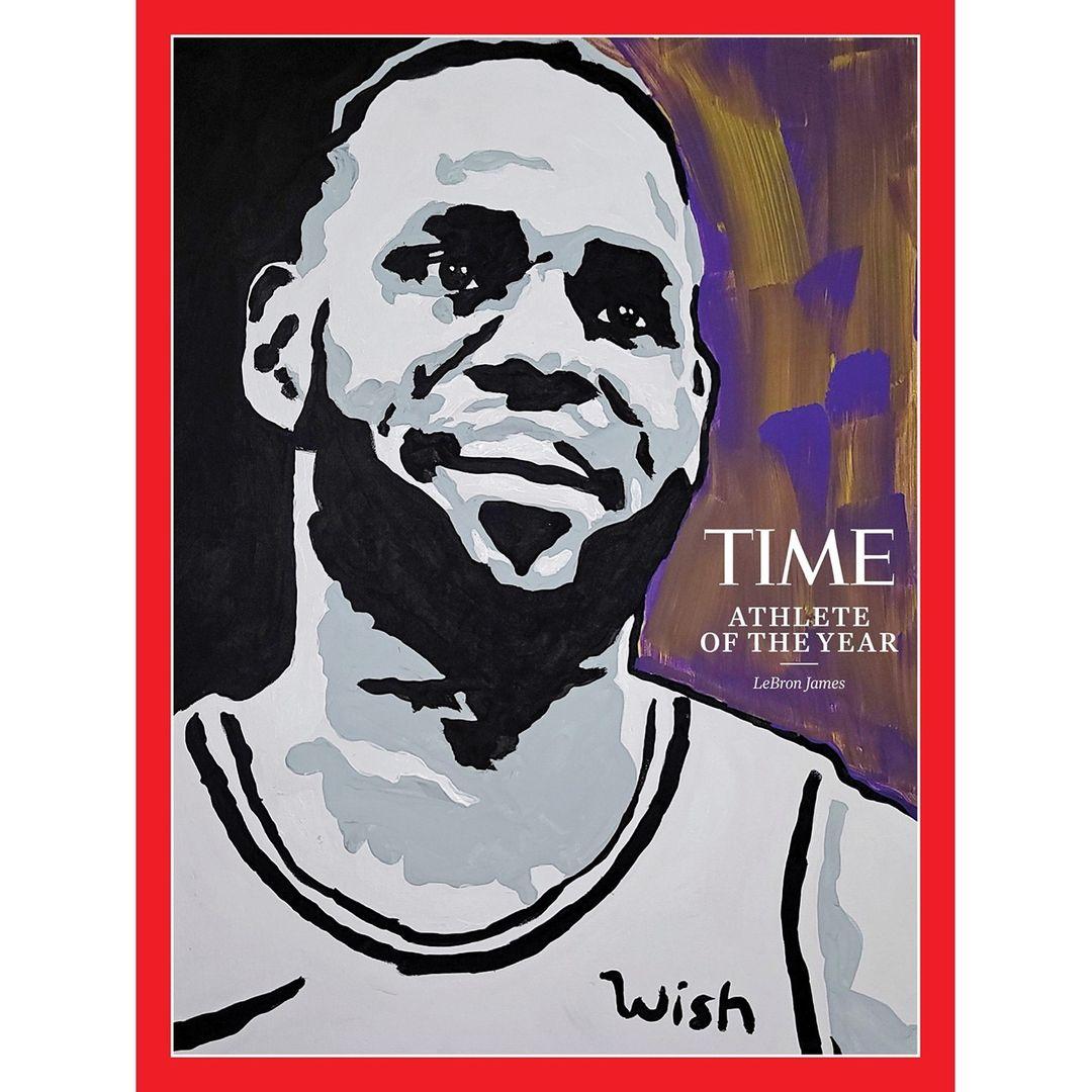"TIME Magazine names LeBron James 2020 ""Athlete of the Year"""