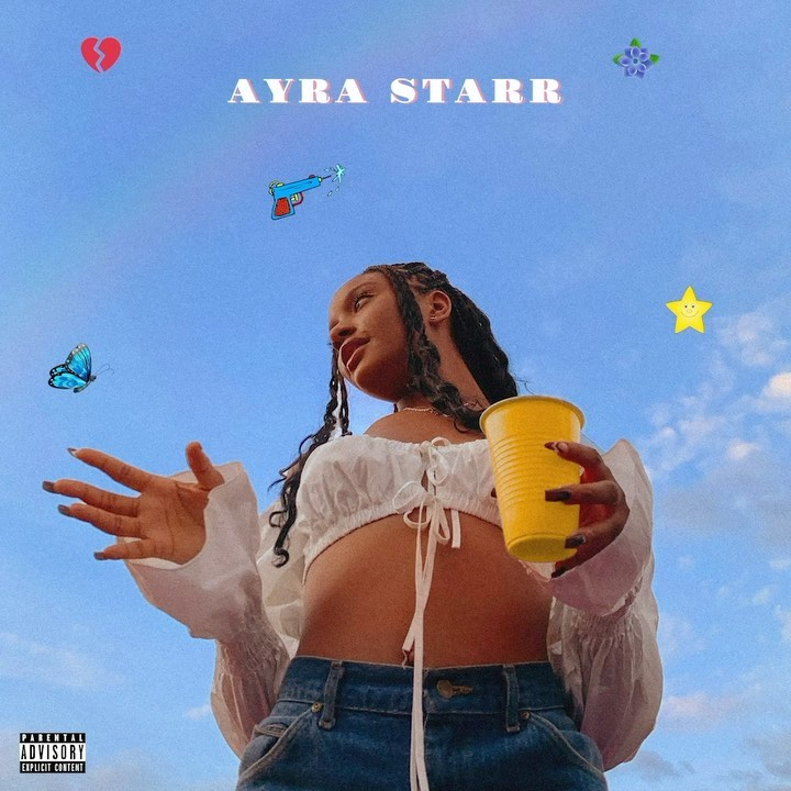 Mavin Records New signee, Ayra Starr reaches 100,000 Instagram Followers