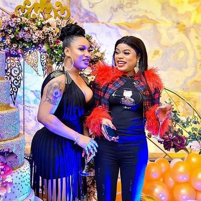 Former besties takes beef to the next level, as Tonto and Bobrisky unfollows each other
