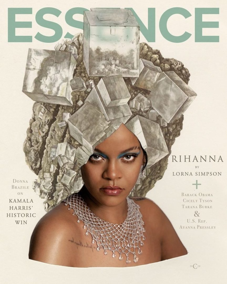 Rihanna covers the January and February edition of Essence Magazine (Photo)