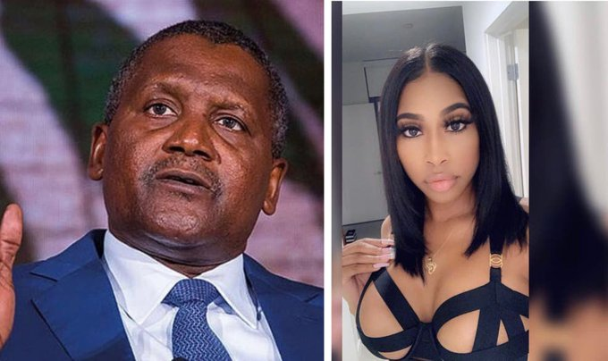 Aliko Dangote allegedly sue his alleged ex-lover for refusing money to stay silence