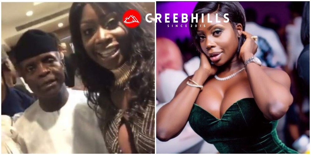 American stripper, Symba opens up on alleged sexual affair with VP Osinbajo