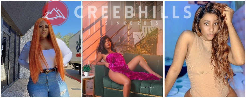 Nkechi Blessing might have become one of the sexy and endowed female celebrities in the entertainment industry but it seems she's behind her sister in the pecking order.