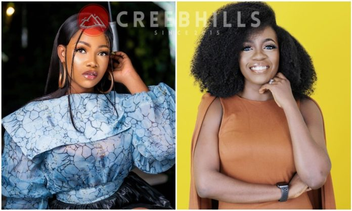 Tacha Blast Media personality Shade Ladipo, for shading her over how she reacted to Nicki Minaj following her