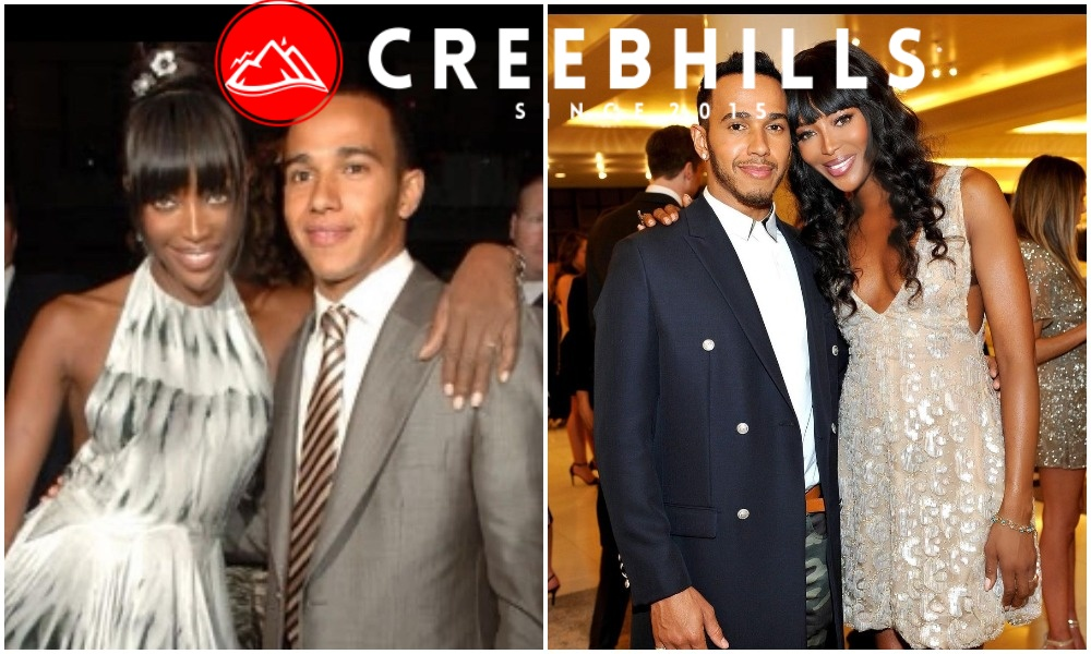 Naomi Campbell pens heartfelt message to Lewis Hamilton on his 36th birthday (Photos)