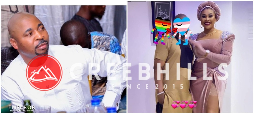 Ehi Egbebor and alleged lover MC Oluomo, makes it rain money at Oluwo of Iwo's 5th anniversary (Video)
