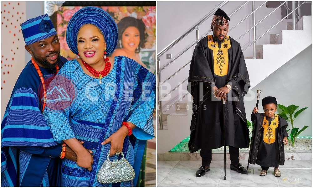 Toyin Abraham pens romantic message to celebrate hubby, Kolawole Ajeyemi on his birthday (Photo)