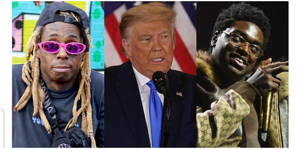 Donald Trump pardons rappers Lil' Wayne, Kodak Black in his final hours in office
