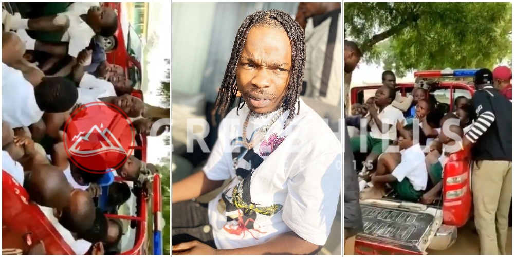 Naira Marley reacts to school children arrested by Amotekun for tagging themselves Marlians (Video)