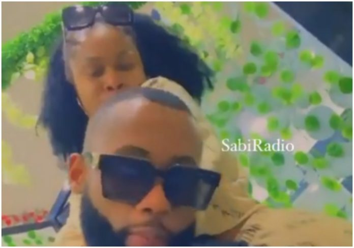 BBNaija stars Tochi and Princess sparks dating rumor as they share cozy time (Video)