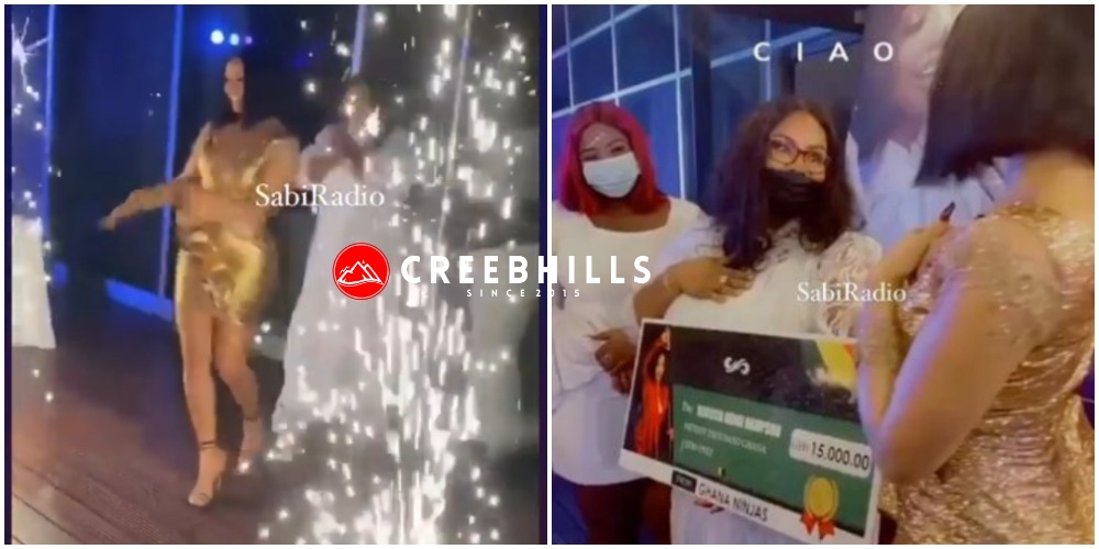 BBNaija's Nengi receives 15,000 Ghana cedis gift (N1M) from her Ghanaian fans (Video)