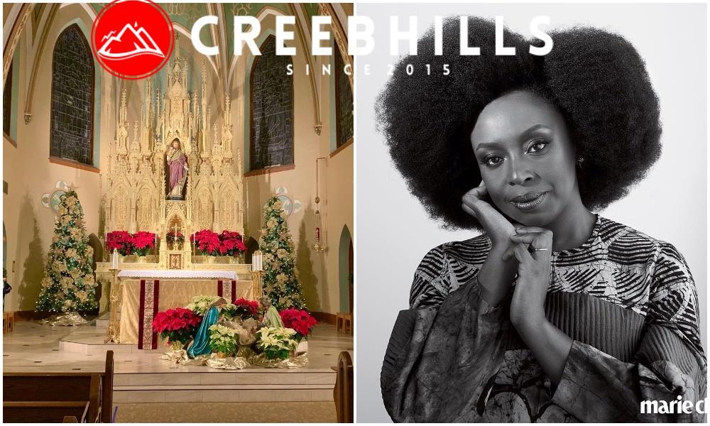 Why I stopped attending Catholic Church in Nigeria — Novelist Chimamanda Adichie (Video)