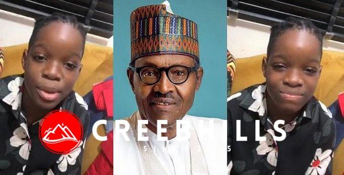 """Buhari isn't who we think he is"" – Wizkid's son, Boluwatife rants (Video)"