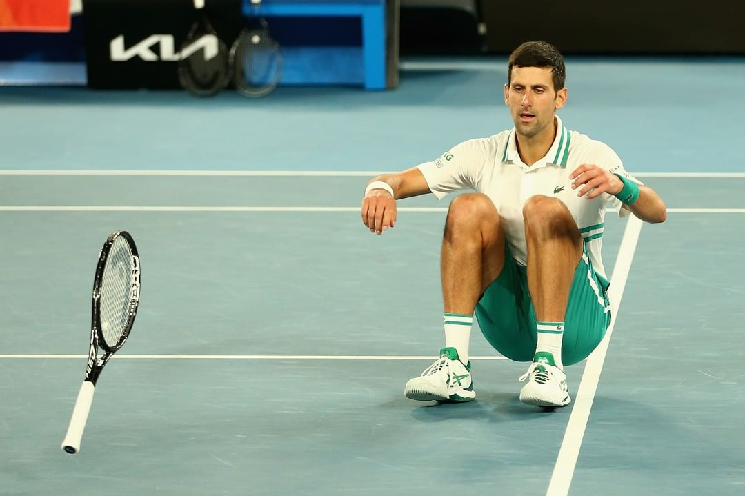 Moment Novak Djokovic beat Daniil Medvedev to win his 9th Australian Open (Video)