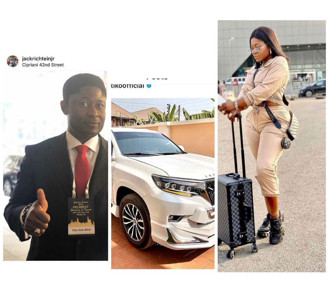 Destiny Etiko lay curses on fans claiming her new car was from a man (VIDEO)