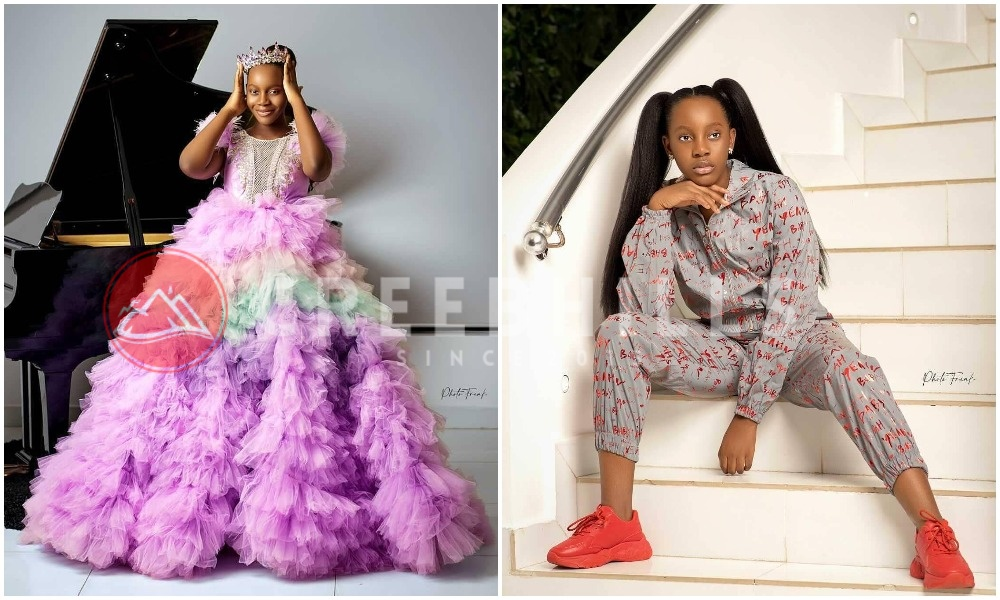 Comedian AY pens heartfelt message to celebrate daughter, Michelle, on her 13th birthday (Photos)