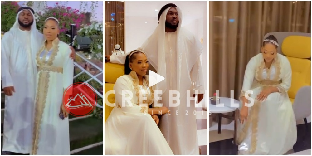 Zlatan Ibile's ex-lover gets Bolanle engaged by her new boyfriend, Abiodun (VIDEO)