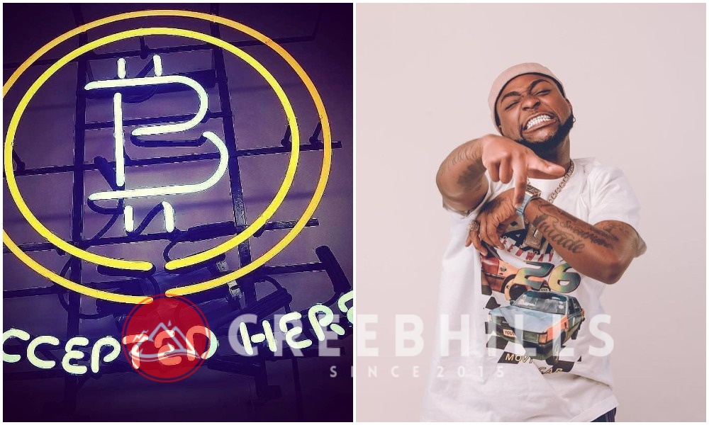 Crypto-currency: Davido reacts to CBN directing banks to close accounts of traders