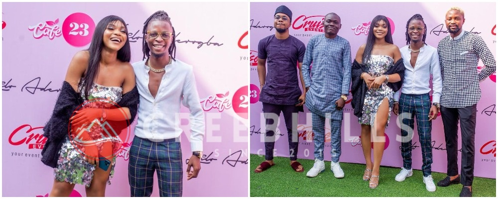 More wins and more blessing – Laycon celebrates Lilo on her new brand (Photos)